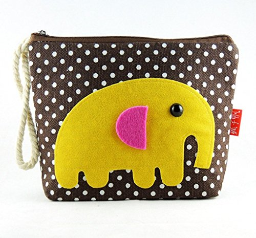 DAYAN Maquillage cas cosmétique Cartoon sac de rangement Pen Pencil Pouch