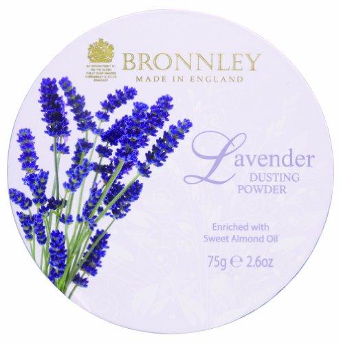 Bronnley Poudre libre à la lavande 75 g