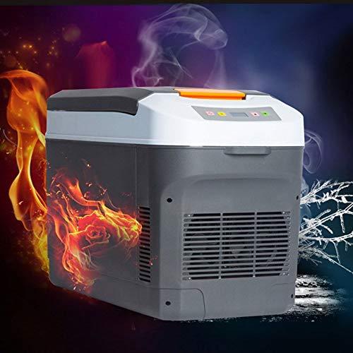 Tipo: Refrigerador De Coche Semiautomático Dimensiones Externas: 53 * 28 * 36 Cm Tamaño Interno: 35 * 22 *   28 Cm Voltaje: DC12V-24V Para Automóvil, (AC) 220V Para Uso Doméstico Potencia: 72 W De Enfriamiento, Calefacción De 65 W Efecto De Enfriamie...