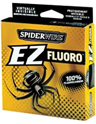 Spiderwire EZ - Sedal de pesca (fluorocarbono, 182 m, 2,7 - 6,8 Kg de resistencia) Talla:10lb-0.30mm