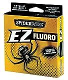 Spiderwire - Ligne Fluorcarbone EZ 180 Mètres Rupture 3-7 kg Pêche Gros Poisson - 3.6kg-0.27mm