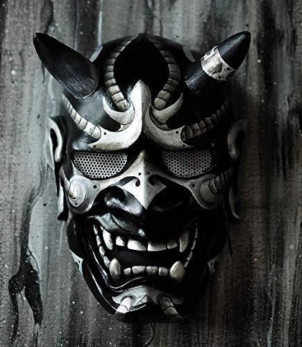 Hannya Kabuki Warrior Demon Maske Voll Tragbar Dekoration Japanischer Stil