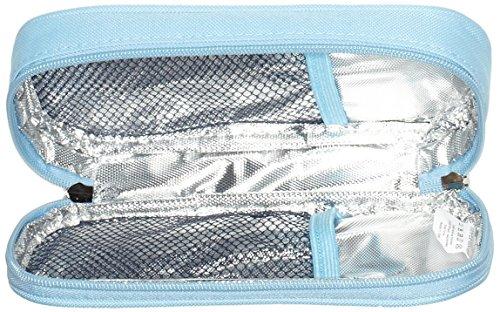 Diabetikertasche ONEGenug Kühltasche Insulin Tasche für Diabetes Spritzen,Insulininjektion und Medikamente 20x4x9cm (Blau)