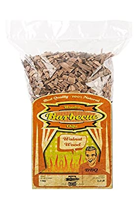 Axtschlag Räucherchips | Räucherholz zum Grillen & Smoken & Räuchern | 100 % Natur Pur | Für perfektes Grillen | für Holzkohle-, Gas- und Elektro-Grill | XXL Packung 1000 g
