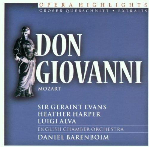 Don Giovanni - Highlights/Barenboim [Import allemand]