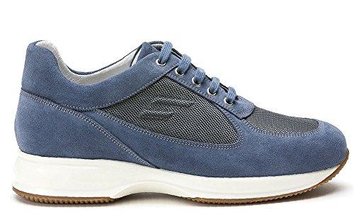 FRAU , Chaussures de ville à lacets pour homme Denim