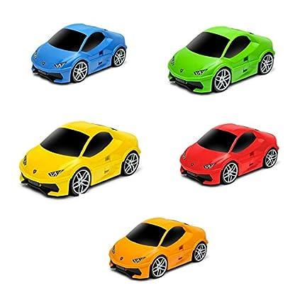 Packenger-Kinderkoffer-Lamborghini-Huracan-Original-Lamborghini-Lizenzprodukt-Auto-Bordcase-Koffer-mit-Teleskopstange-und-Ziehgurt