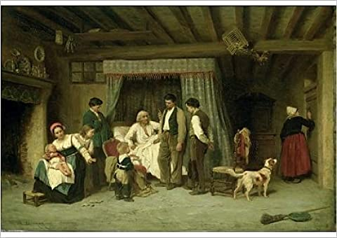 Fine Art Print of The Final Warning, 1886 (oil on