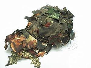 Motif camouflage unique Feuille Feuilles Caduques feuilles Casquette Jeu d'extérieur Airsoft chasse pêche Hat