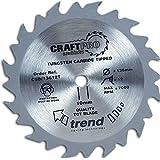 Trend machinery - Lame de scie circulaire 165mm x Z 24 x 15,88mm