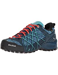 Damen WS Ultra Train 2 Trekking-& Wanderhalbschuhe, Grau (Grey/Hot Coral 0425), 38 EU Salewa