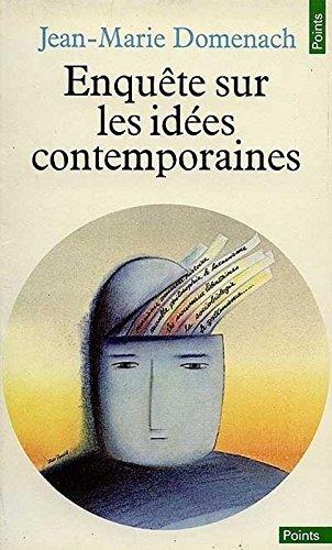 Enqute sur les ides contemporaines