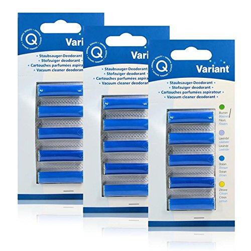 3x Variant Staubsauger Deodorant Ocean für Ihren Staubsauger