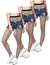 Libella Damen Netzstrümpfe Netz Strumpfhose ein echter Hingucker Strumpfhosen-Trend