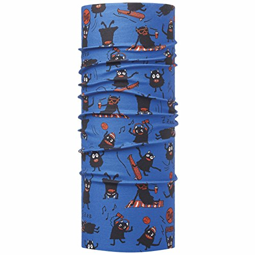 Original Buff Summer Monsters Sky - High UV Protection para niños de 10-14 años, diseño estampado