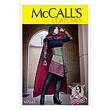 McCall's Patterns 7645E5Schnittmuster Kostüm, mehrfarbig