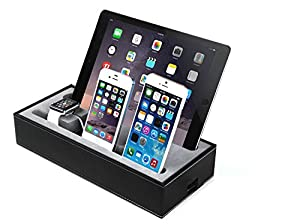 cojoie st nder f r apple watch ladestation f r mehrere ger te kabelf hrung f r iphone. Black Bedroom Furniture Sets. Home Design Ideas