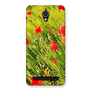 Flowers Beauty Back Case Cover for Zenfone Go