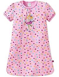 SCHIESSER, Mädchen Schlafanzug, Pyjama, Nachthemd, Kurzarm, Jersey, 'Prinzessin Lillifee', rosa-bunt, 151244