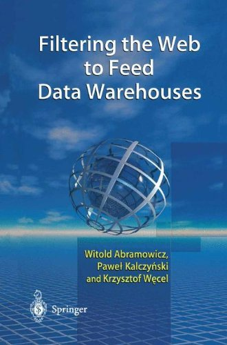 Filtering the Web to Feed Data Warehouses by Witold Abramowicz (2002-09-17)