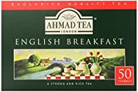 Ahmad Tea English Breakfast Teabag, 12g gram ,50 Count (Pack of 12)
