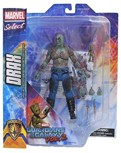 Marvel Comics JAN172662 - Figures of Drax and the Little Grot, of Guardians of the Galaxy Vol.2