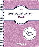 Familienplaner 2016 - Mein Familienplaner Buchkalender A5 , 1 Woche 2 Seiten - 16,5 x 23,1 cm
