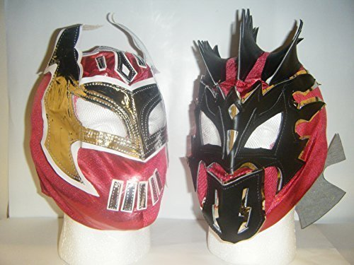 INDER RINGER MASKE KOSTÜM LUCHA DRACHEN WWE (Sin Cara Kostüm Für Kinder)