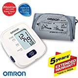 Omron Automatic Blood Pressure Monitor with Digital Thermometer MC-246 Health Care Combo Pack
