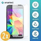 smartect Samsung Galaxy Grand Prime Panzerglas Folie - Displayschutz mit 9H Härte - Blasenfreie Schutzfolie - Anti Fingerprint Panzerglasfolie [2 Stück]