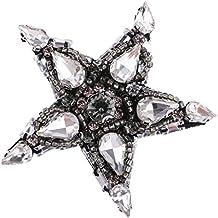Sharplace 1 Pieza Parche con Diamantes de Imitación Ideal Uso para Decoración de Ropa de Moda