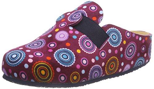Scholl Lareth, Chaussons Femme Multicolores (violet / Violet)