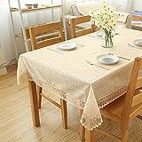 fwerq Einfach Spitze im europäischen Stil, Tischdecke, Tuch, Tischdecke, Kühlschrank Waschmaschine Stoff - ein 125 x 125 cm (49 x 49 Zoll)
