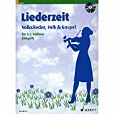 Liederzeit - arrangiert für Violine - (für ein bis zwei Instrumente) - mit CD [Noten/Sheetmusic]