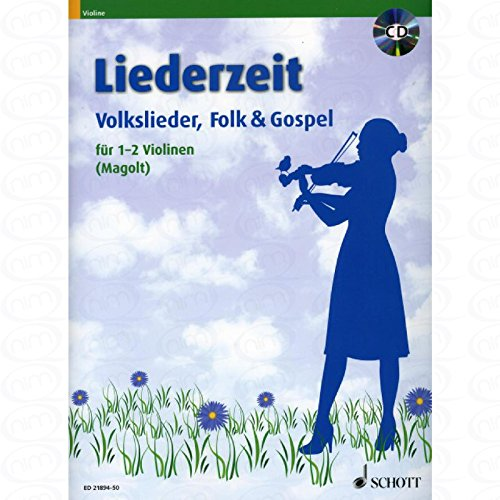 Liederzeit - arrangiert für Violine - (für ein bis zwei Instrumente) - mit CD [Noten/Sheetmusic] Land Rover Cd