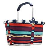 Reisenthel Carrybag Shopping Artist Stripes [3058] Rosso|multicolore