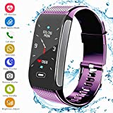 Fitness Tracker , 2018 Upgrade Activity Tracker with Pedometer Bluetooth Blood Pressure Heart