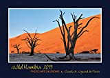 Wild Namibia 2019: Photo calendrier mural A4 sur la magnifique contrée sauvage de la Namibie. Format A4 paysage: 29x21 cm