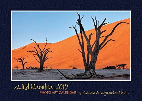 Wild Namibia 2019: A4 Foto-Wandkalender über Namibias traumhafte Wildnis. DIN A4 Querformat: 29x21 cm.