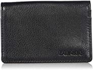 Diesel Men's THESTARTER DUKEZ-Card-Holder, black/Yellow,