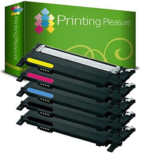 Kit 5 Toner Compatibili per Samsung CLP-360 CLP-365 CLP-365W CLP-368 CLX-3300 CLX-3305 CLX-3305FN CLX-3305W CLX-3305FW Xpress C410W C460W C460FW C467W - Nero/Ciano/Magenta/Giallo, Alta Resa
