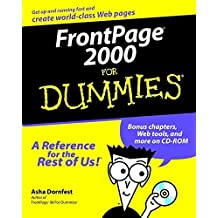 FrontPage 2000 For Dummies by Asha Dornfest (1999-05-21)