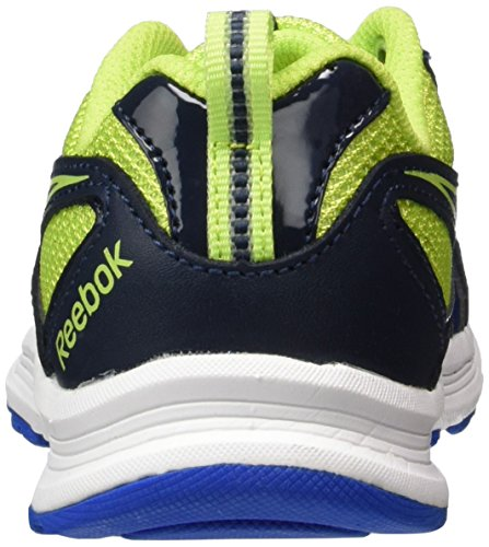 Reebok Bd4280, Scarpe da Trail Running Bambina Multicolore (Black/ Grey/ Fire Spark/ White)