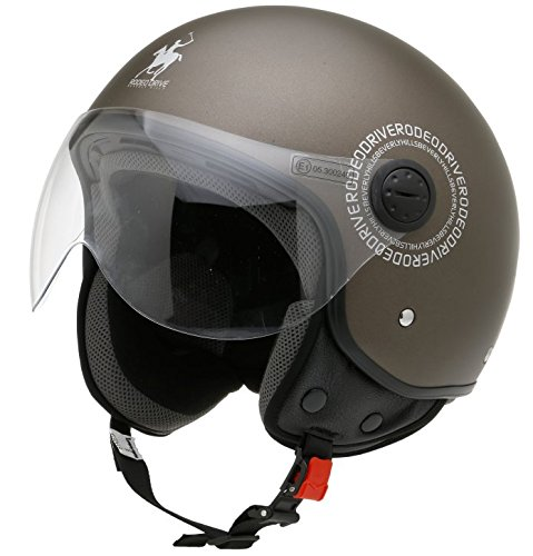 Rodeo Drive Casco Moto RD104plus, Tortora, S