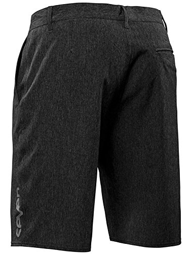 Seven-MX-Pantaloncini-Hybrid-Nero-Heather