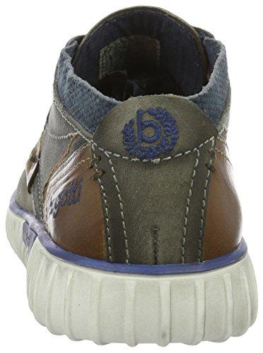 Bugatti K3732pr58, Baskets Basses Homme Gris (Grau/Braun 142)