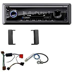 Blaupunkt autoradio uSB sD aUX mP3 pour audi a4 (1999–2001) a6 entre 1997 et 2000)