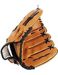 V-SOL Guante de Béisbol Ejercicio Deporte para Unisex Marrón(12.5 pulgada)