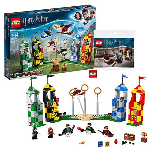 LEGO Harry Potter – Quidditch Turnier (75956) Bauset (500 Teile) Harry Potter 30407 - Harry's...