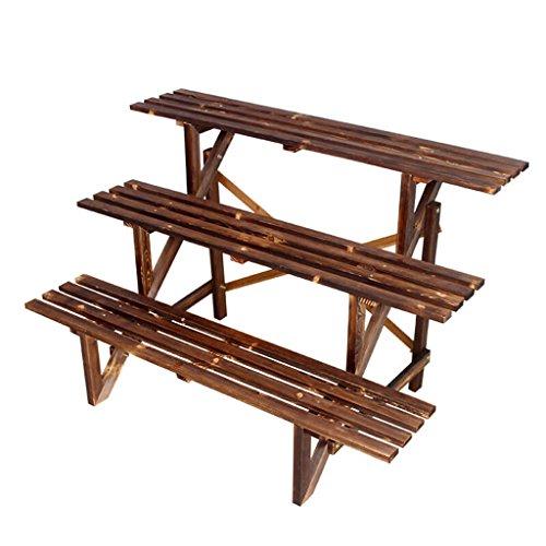 QFF Anti-corrosif bois trois couches escaliers fleur supports